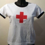 Girly TS white and red cross