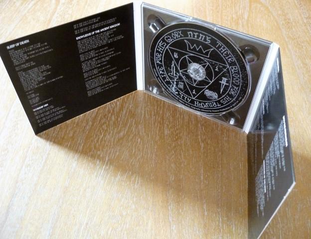 Afbeeldingsresultaat voor Samael worship him CD digipak